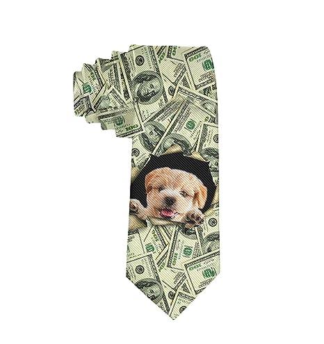 Corbata para Perro con patrón de Dinero de Negocios, Corbata ...