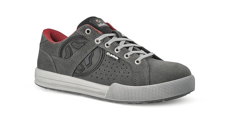 c7bc5ced419a5 Chaussures de sécurité JALGROUND cuir velours gris JMO07 43 Noir ...