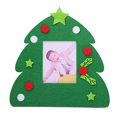 Christmas Photo Frame Pendant Tree Picture Hanger Home Party Decor Ornaments
