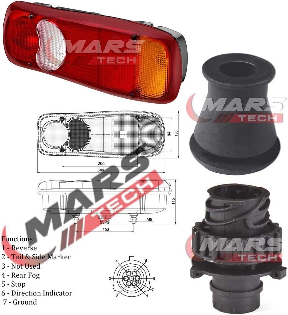 LF55 Feu arriere c/ôt/é droit pour Midlum//Premium//Mascott//Master Camions Camionettes LF45