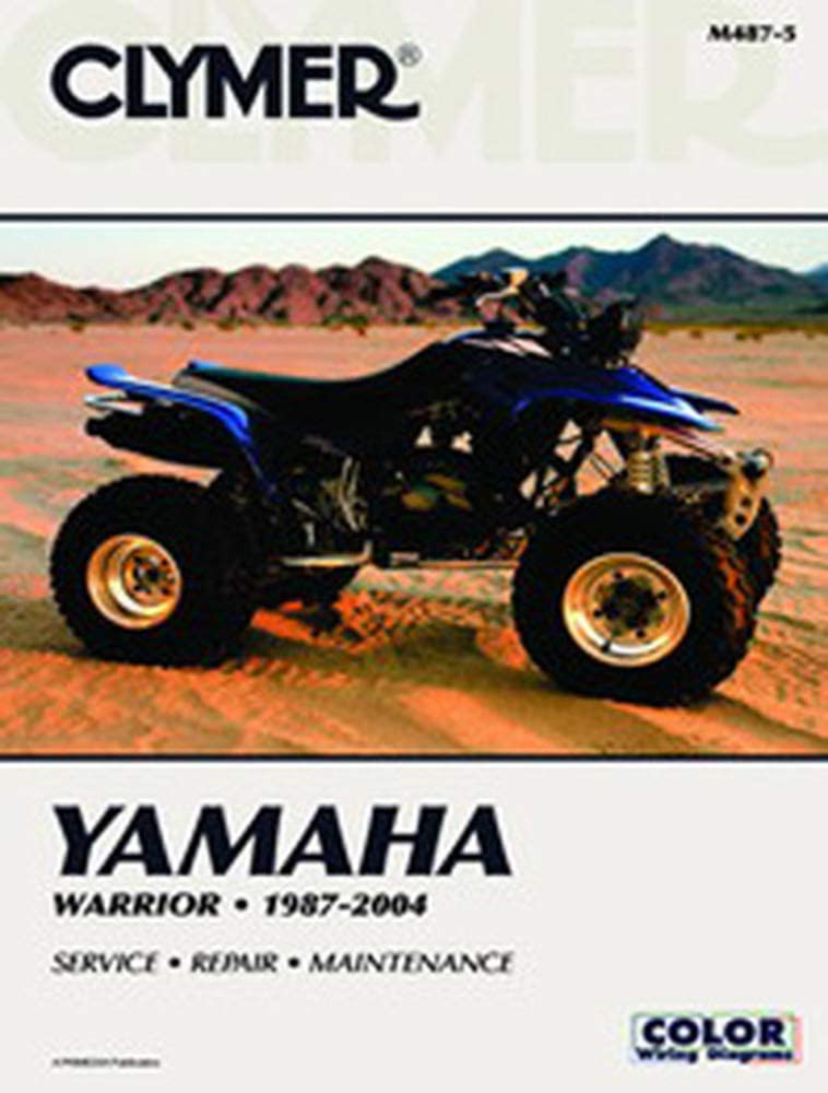 Amazon Com Clymer Repair Manual For Yamaha Atv Yfm350 Warrior 87 04 Automotive