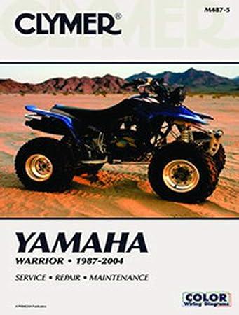 Amazon.com: Clymer Repair Manual for Yamaha ATV YFM350 Warrior 87-04:  AutomotiveAmazon.com