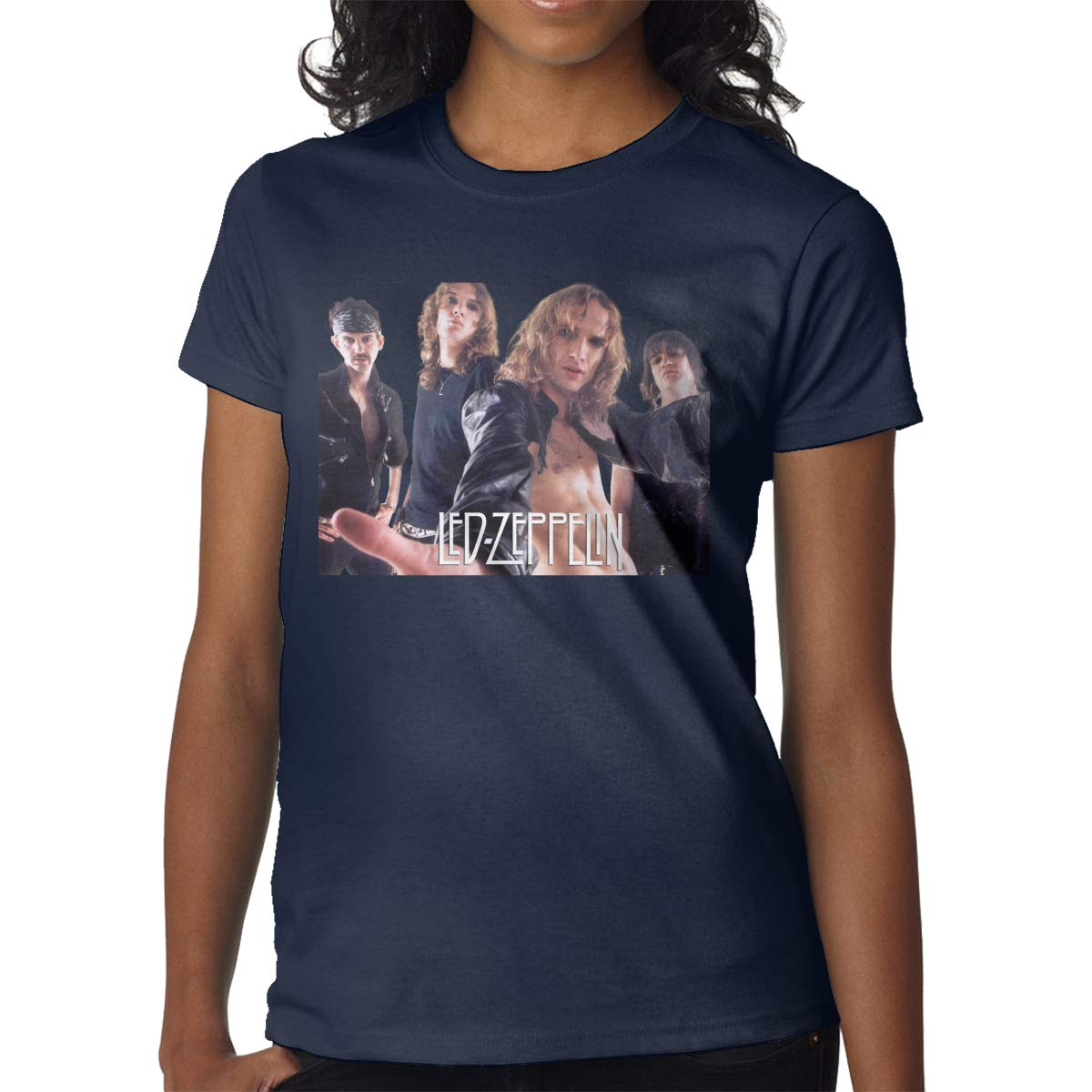 Personalized Led Zeppelin Combination Fashion Short Sleeve For Black Shirts