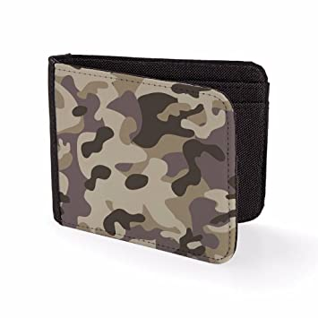 Amazon.com: Mens Wallets Billfold Card Holder Camouflague Pattern Novelty Wallet: Bang Tidy Clothing