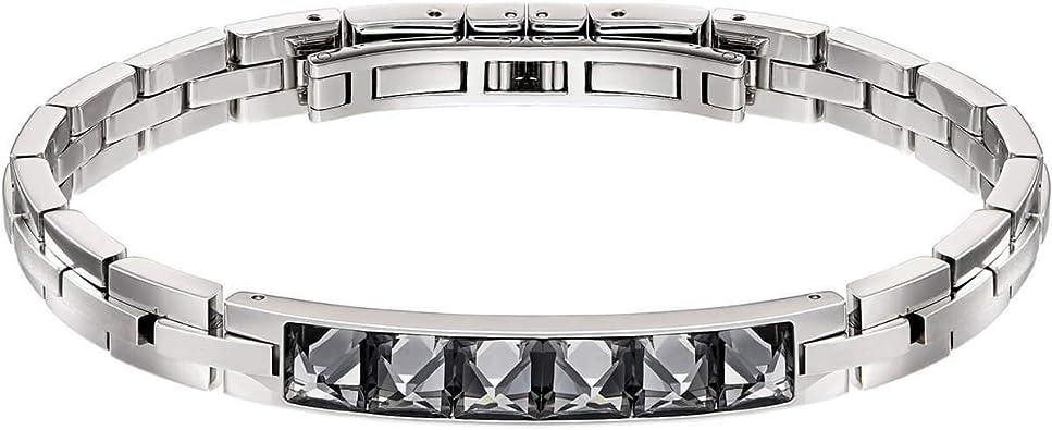 Swarovski Men Stainless Steel Bangle 5217241 Amazon Co Uk Jewellery