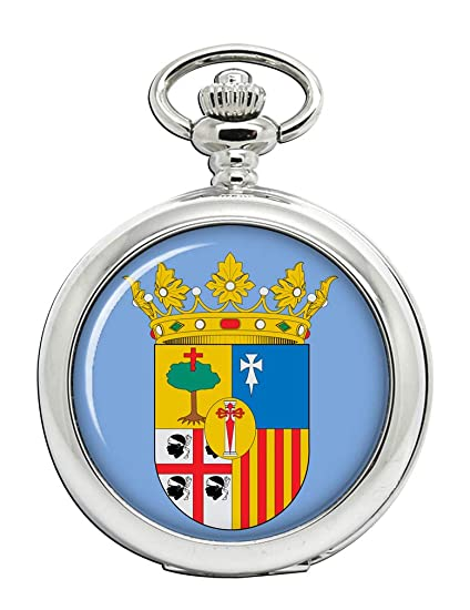Zaragoza (España) Full Hunter reloj de bolsillo