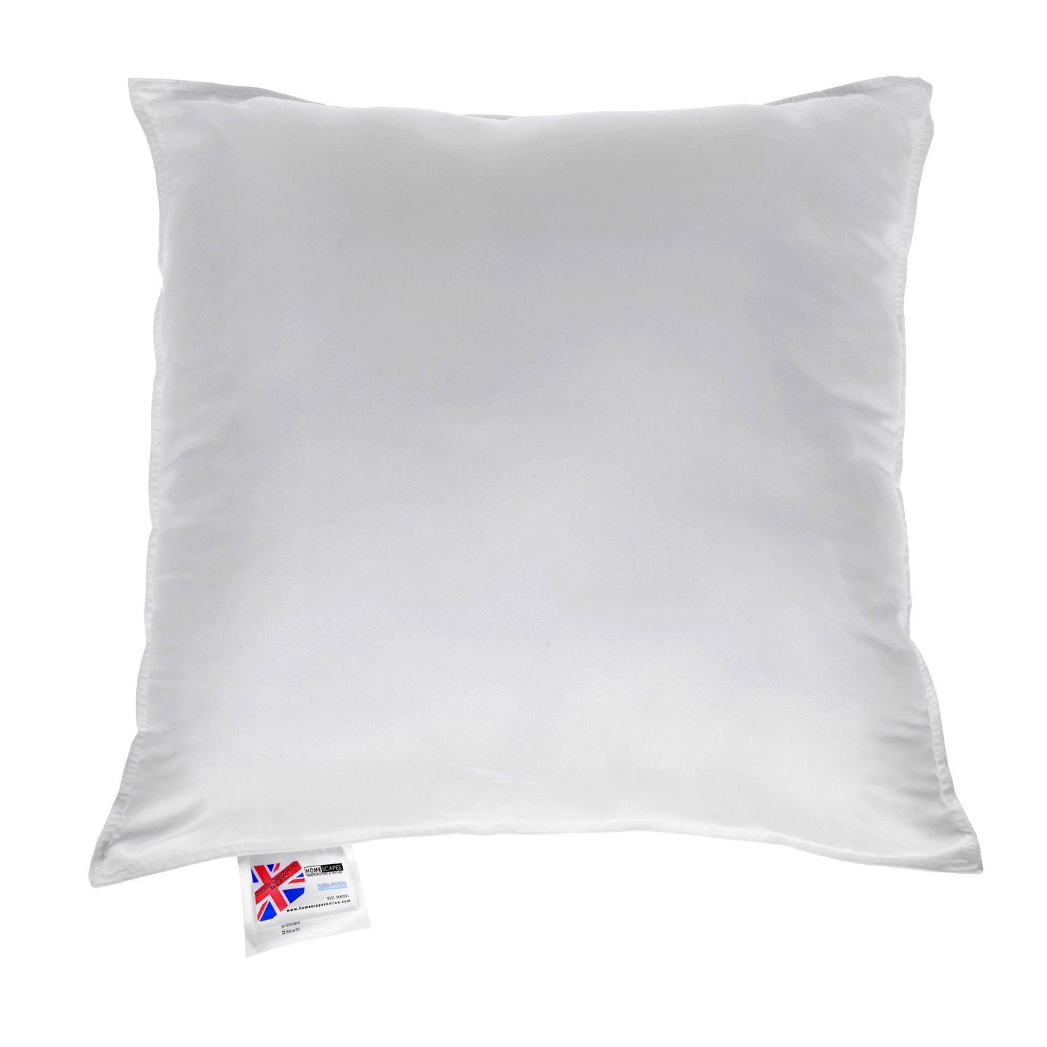 extra cushion of satin white product inserter set single pillow soft x filler