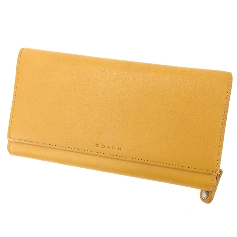 [コーチ] COACH 長財布 ラウンドファスナー レディース 中古 美品 Y1559 B0772VDDWX