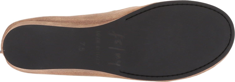 French Sole Women's Zeppa Slip on Shoes B07CDQSB56 8.5 B(M) US|Caramel Metallic Suede