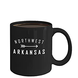Arkansas Coffee Mug - Bentonville - Fayetteville - Rogers - Springdale - Eureka Springs