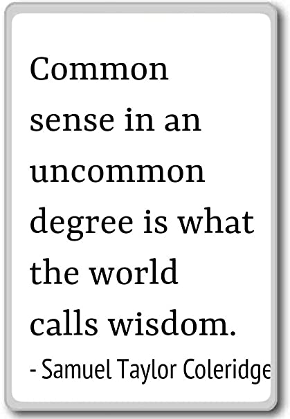 Amazon.com: Common sense in an uncommon degree ... - Samuel ...