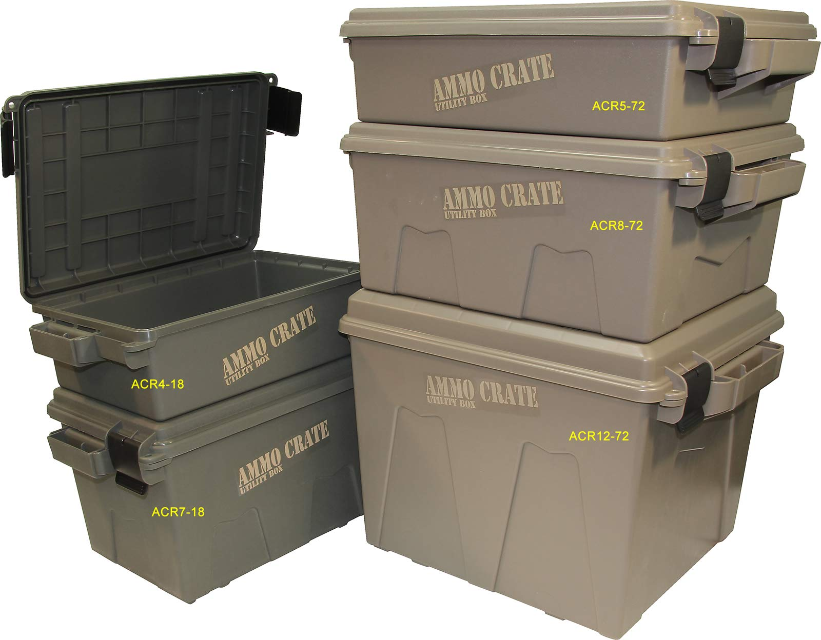 MTM ACR12-72 Ammo Crate Utility Box for Dry Storage of Gear by MTM