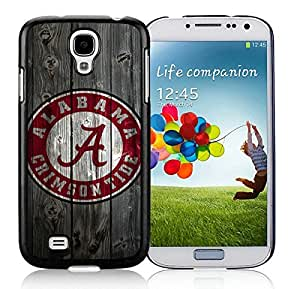Southeastern Conference SEC Football Alabama Crimson Tide(1) Black Samsung Galaxy S4 Cellphone Case DIY and Durable Cover