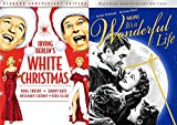Diamond White Christmas & Platinum It's A Wonderful Life B/W & Colorized editions Classic Double Feature Holiday Movie Set