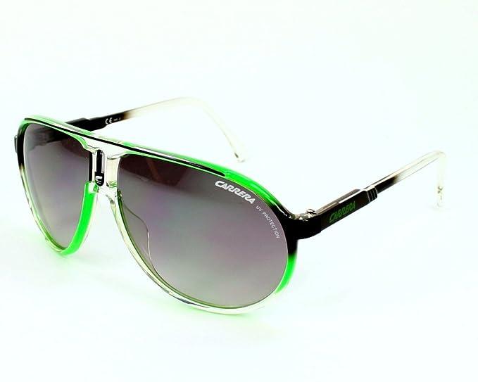 a4bba1052c Carrera Gafas de sol Champion/Fl - TW0/IC: Verde/Cristal/Negro: Amazon.es:  Ropa y accesorios