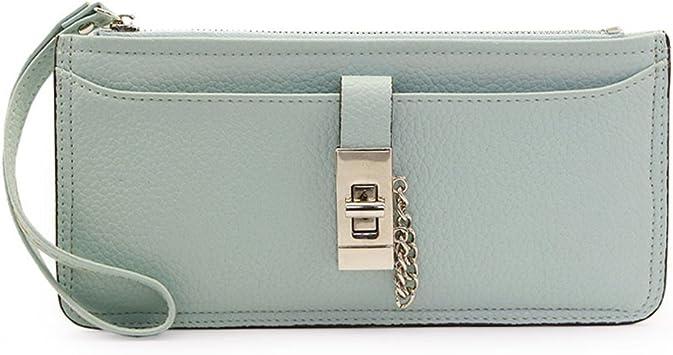 Monedero largo Dama/Simple Pack cremallera cerradura de la tarjeta/Bulto-bolso de mano-G: Amazon.es: Equipaje