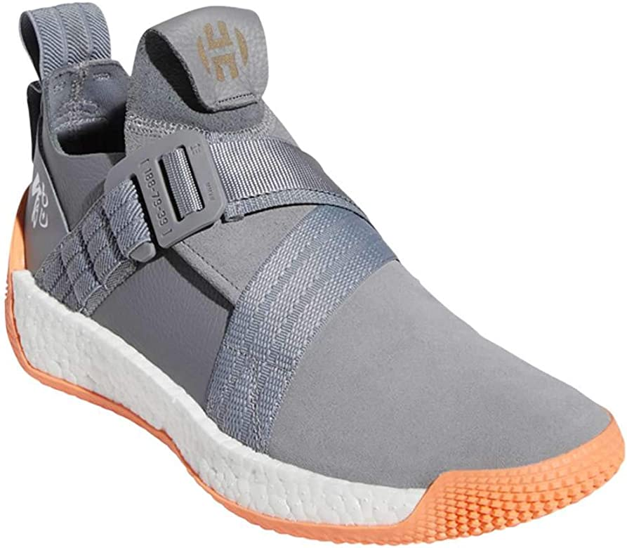 adidas Mens Harden LS 2 Buckle Basketball Grey Three/White/Easy ...