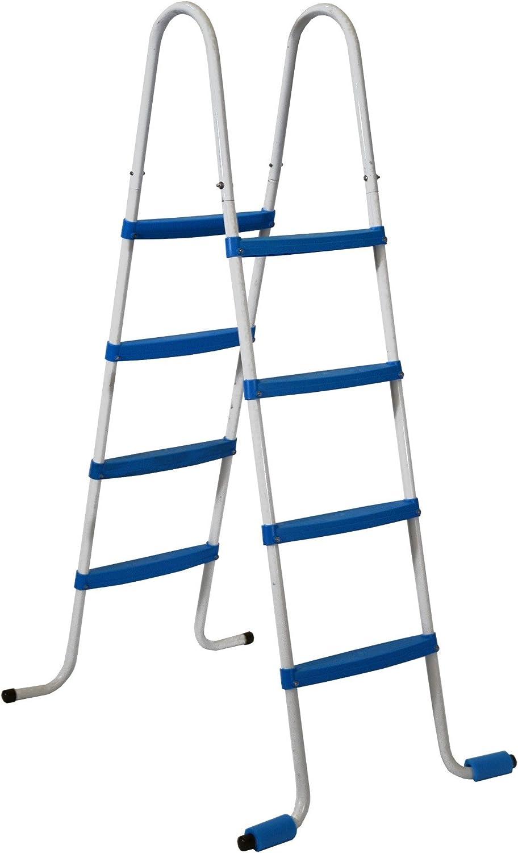 Piscinas Toi 4870 Escalera de 8 peldaños para Piscinas ...