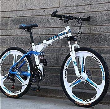 GASLIKE Bicicleta de montaña Plegable con Ruedas de 26 Pulgadas ...