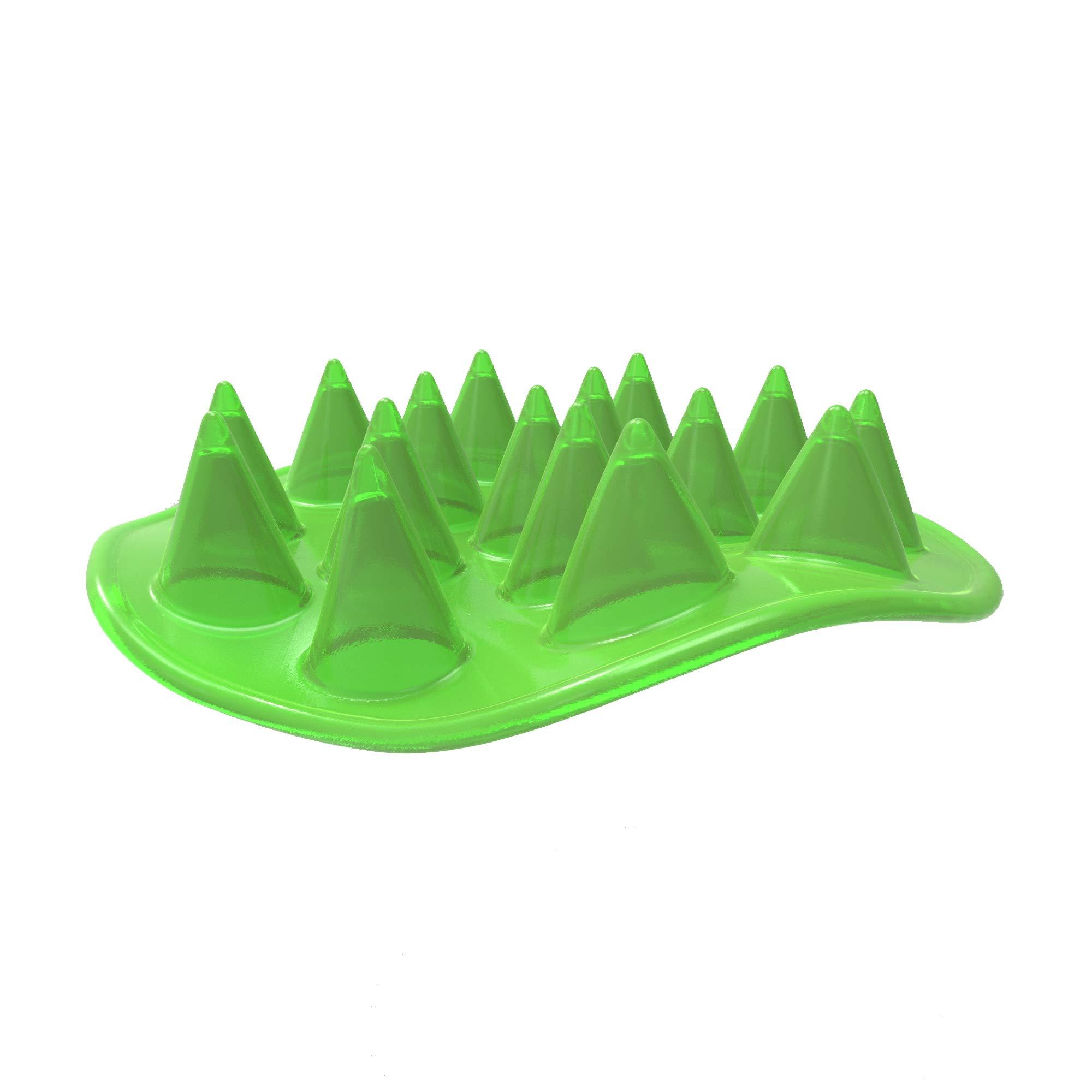 Floppy Spike Dog Frisbee Soft: Best Flexible Flying Dog Toy   Made in USA   Medium & Large Dog Frisbee   Best Dog Toy…