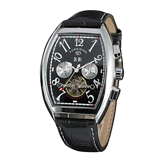HWCOO Relojes mecánicos FORSINING / 597 Reloj mecánico automático Importado del tourbillon de los Hombres japoneses del Movimiento (Color : 2): Amazon.es: ...