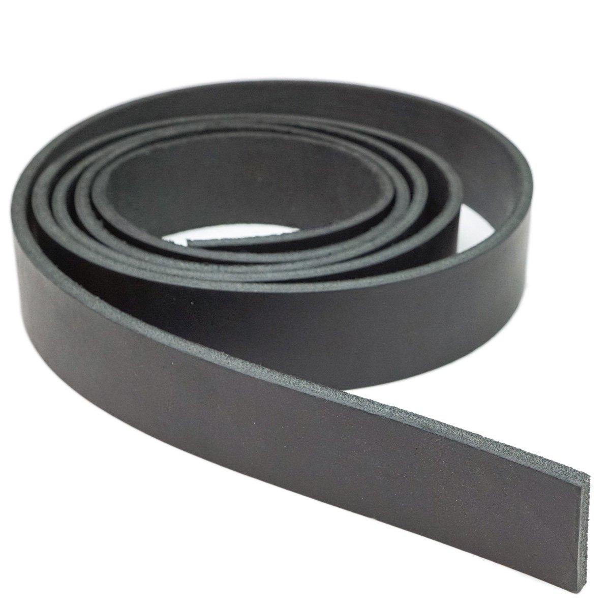 Springfield Leather Company Black Latigo Leather Strip 5.1cm x 210cm B00EBE7UJ0 ブラック 2\