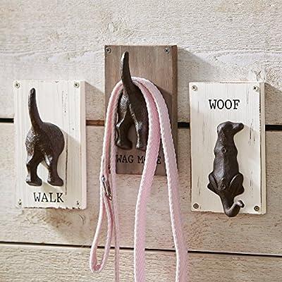 Mud Pie Novelty Dog Leash Hook Hanger