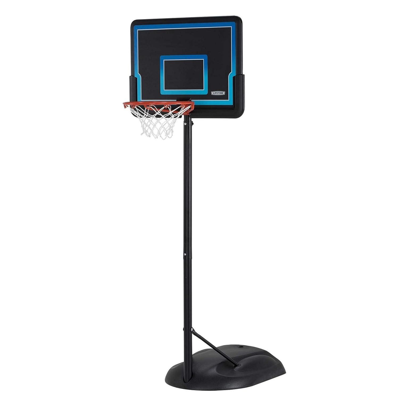 Lebenslange Kids '90824 verstellbar tragbar Reifen (Impact) 32 Verstellbare Jugend Basketball-System, schwarz und blau Lifetime Products