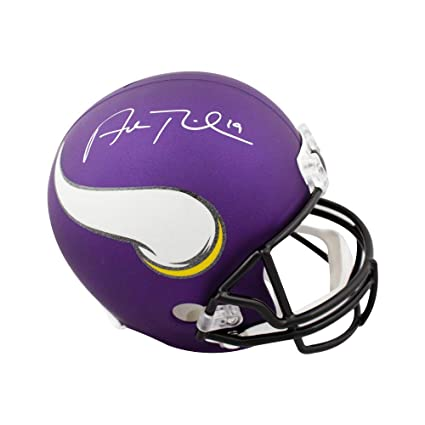 27004dbb3f4 Image Unavailable. Image not available for. Color  Adam Thielen Autographed  ...