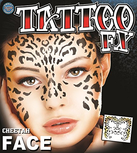 Tinsley Transfers  Cheetah, Flesh/Multi, One Size