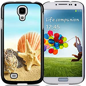Popular And Unique Designed Case For Samsung Galaxy S4 I9500 i337 M919 i545 r970 l720 With Seashells and Stars 640x1136 Phone Case Cover