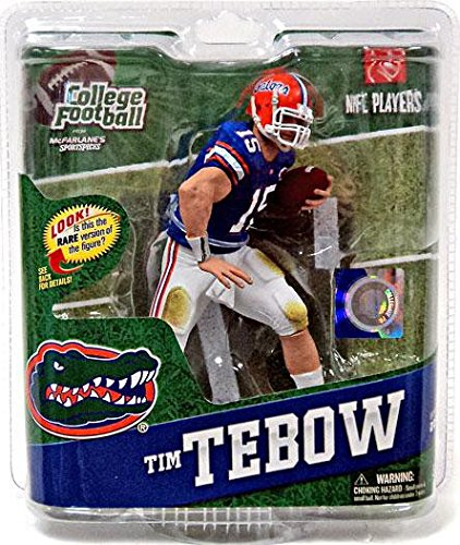 College Ncaa Series Football (NCAA University of Florida McFarlane 2012 College Football Series 4 Tim Tebow, 2 Action Figure)