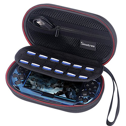 Smatree P100L Carrying Case for PS Vita 1000, PSV 2000 with Cover (Console ,Accessories and Cover NOT Included )