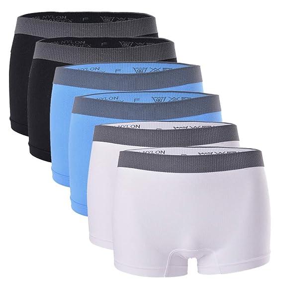 Damen Pants Pantys Unterwäsche Unterhosen Microfaser Boxershorts