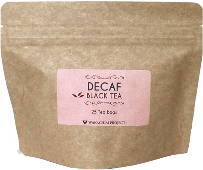 フェアトレード 紅茶 デカフェ 【 インド産・デカフェ(2g×25パック)】