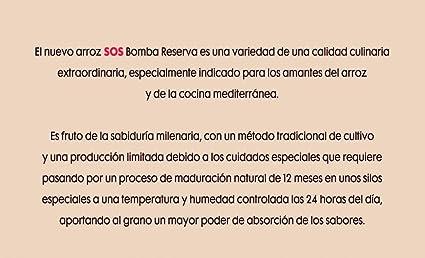 SOS Bomba Reserva 1 Kg - [Pack De 12] - Total 12 Kg
