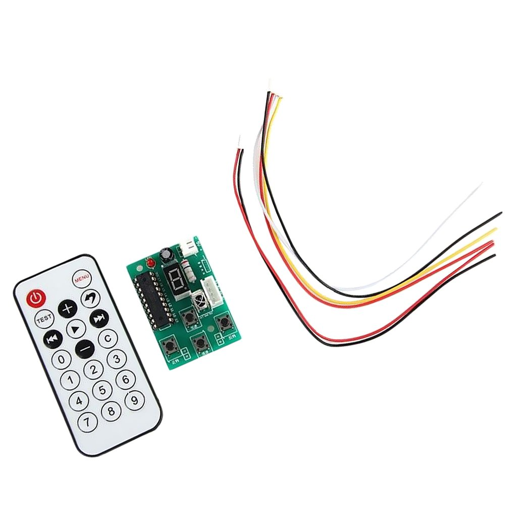 Dovewill 2-Stage 4-Wire Muti-color Adjustable Speed Controller Remote Control