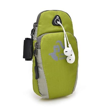 Double Zipper Wrist Bag Arm Mobile Phone Key Package Coin Purse Bag Home