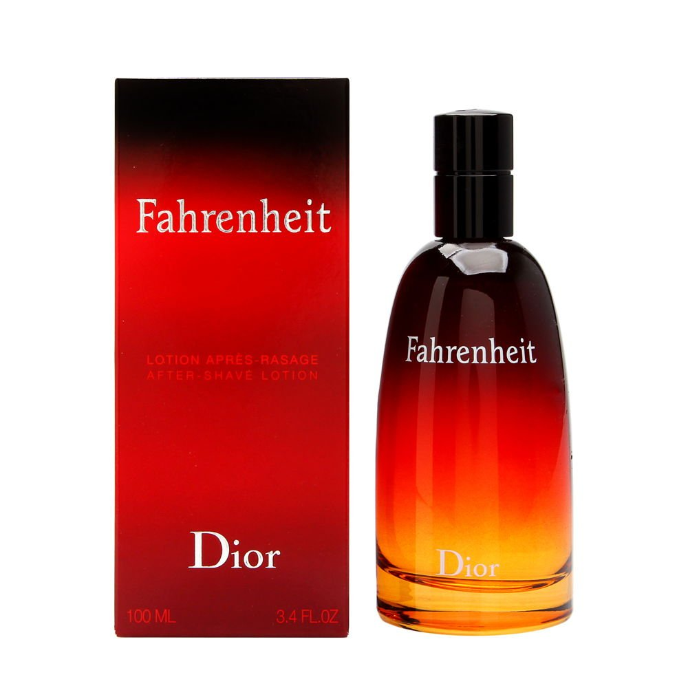 Fahrenheit Aftershave Lotion by Christian Dior for Men,3.4oz