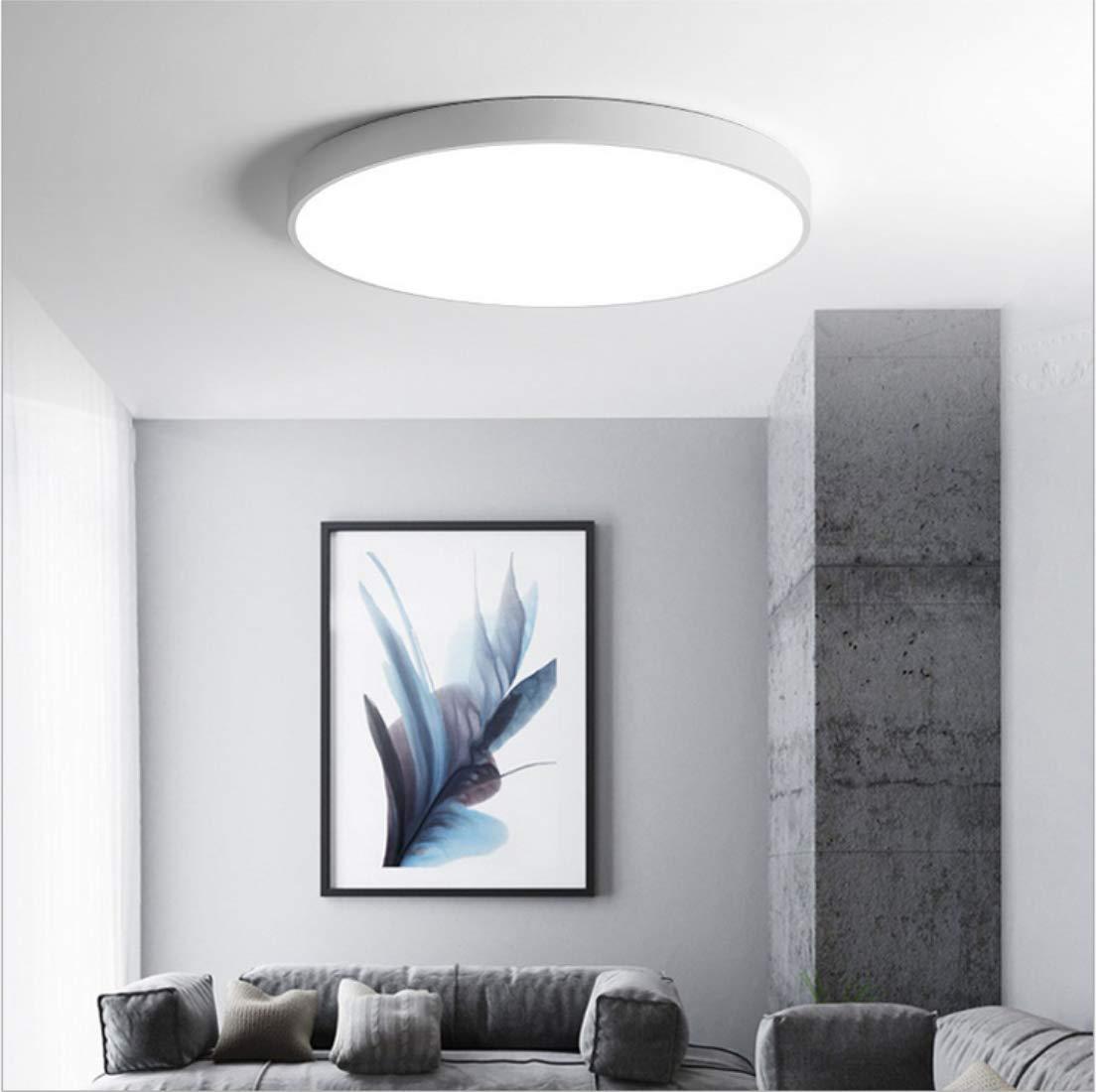 LED Deckenleuchte rund kalt weiß 45cm 28W 6000K