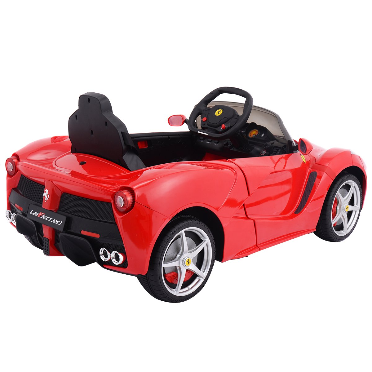 Amazon.com: Tangkula Kids Ferrari 12V Electric Ride On Toy Car With Remote  Control Red: Toys U0026 Games