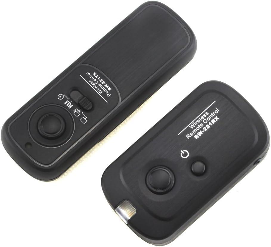 70D 60D 60Da 800D 760D 750D 700D 650D 600D 550D 500D 450D 200D 100D 1500D 1300D 1200D 1100D 77D Pixcel RW-221 Wireless Shutter Remote Control for Canon EOS 80D