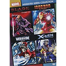 Marvel Anime: Blade - Season 1, Vol 1 / Marvel Anime: Blade - Season 1, Vol 2 / Marvel Anime: Ironman - Season 01 - Vol. 1 / Marvel Anime: Ironman - Season 01 - Vol. 2 / Marvel Anime: Wolverine - Season 1, Vol 1 / Marvel Anime: Wolverine -  - Set