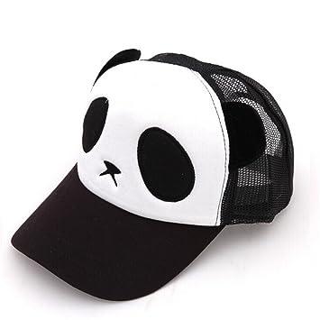 panda baseball cap philippines giants hat cartoon cotton net for girls boys black