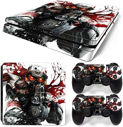 Sony PS4 Playstation 4 Slim Skin Design Foils Pegatina Set - Soldier 3 Motivo: Amazon.es: Videojuegos