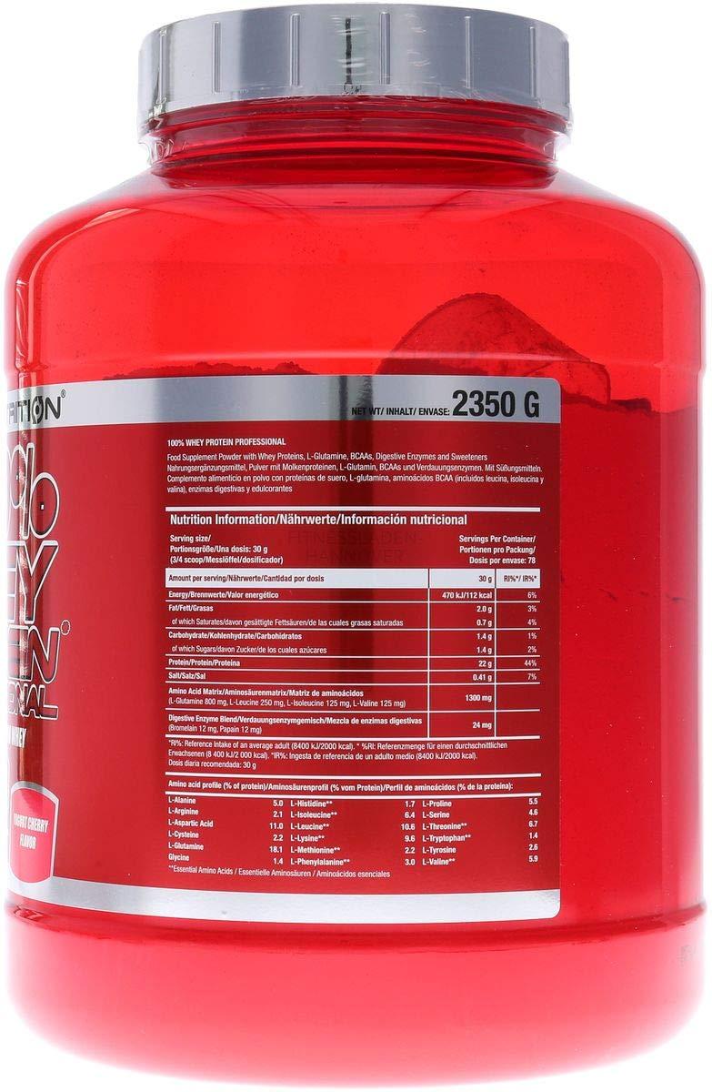 100% Whey Protein Professional 5 lb (2350g) Cereza y yogur