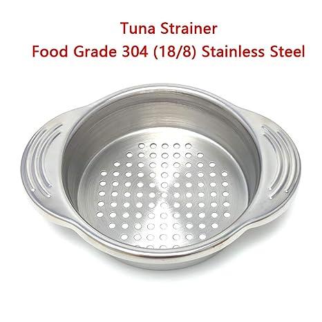 Amazon.com: Colador para atunes de acero inoxidable de grado ...