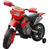 Moto électrique pour enfants Rouge