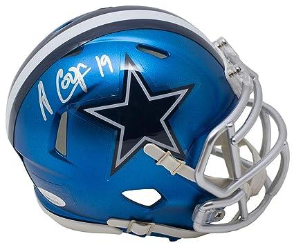 f6d0be9e1 Amazon.com  Amari Cooper Signed Dallas Cowboys BLAZE Mini Speed ...
