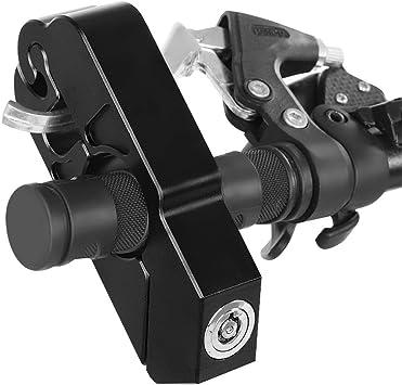 Mopeds und Gel/ändefahrzeuge Roller YanFeng Universal Motorradschloss Motorrad Bremsschloss Lenker Sicherheitsschloss Motorrad Fahrzeugsicherheit Aluminiumlegierung f/ür Sportfahrr/äder